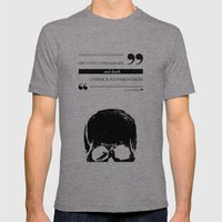 Parenthesis Mens Fitted Tee Tri-Grey SMALL