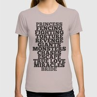 Princess Bride Womens Fitted Tee Cinder SMALL
