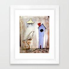 BIRD #3 Framed Art Print