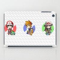 Pokemon Trainer BLUE iPad Case