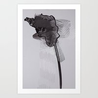 leaf thirteen  Art Print