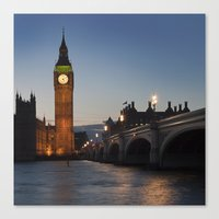 Big Ben, London Canvas Print