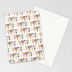 Spice Girls Pattern Stationery Cards