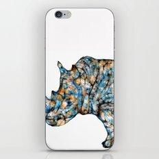 Rhino-no text iPhone & iPod Skin