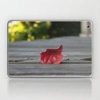 Red Leaf Laptop & iPad Skin