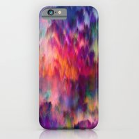 iPhone Cases featuring Sunset Storm by Amy Sia