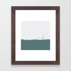 ISBJERG #01 Framed Art Print