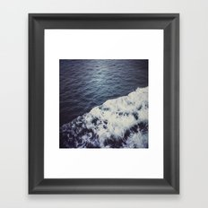 Waves. Framed Art Print