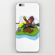 Bigfoot Rocks! iPhone & iPod Skin