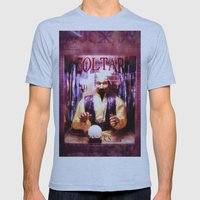 Zoltar Mens Fitted Tee Athletic Blue SMALL