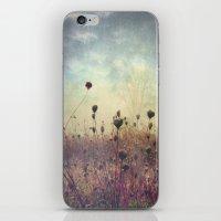 Her Mind Wandered in Beautiful Worlds iPhone & iPod Skin