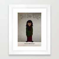 Bad Hair Day No:1 / Plan… Framed Art Print