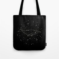 Whale Constellation  Tote Bag