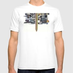 The Invisible Cities (dedicated to Italo Calvino) Mens Fitted Tee White SMALL