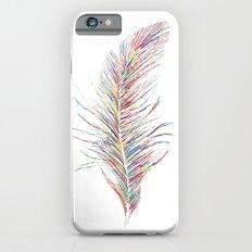 Rainbow Feather  iPhone 6 Slim Case