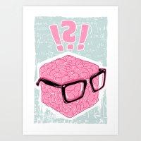 Brainbox Art Print