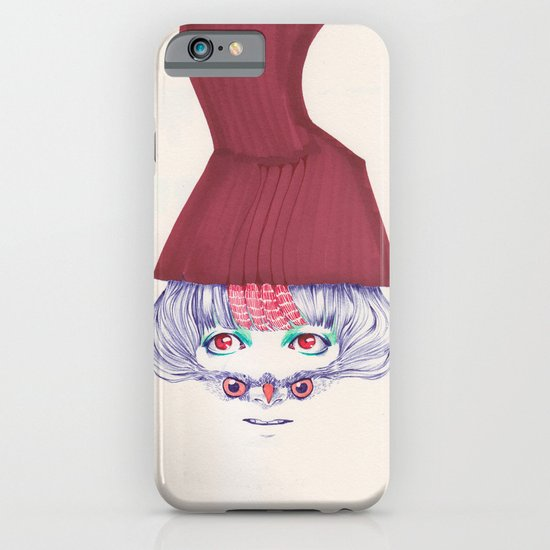 Owl lady wannabe iPhone & iPod Case