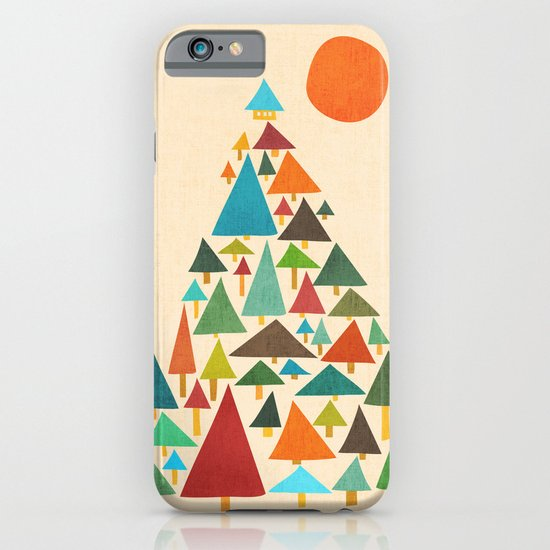The house at the pine forest iPhone & iPod Case