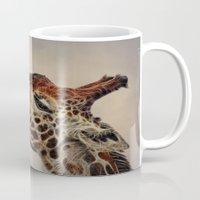 Giraffa camelopardalis Mug