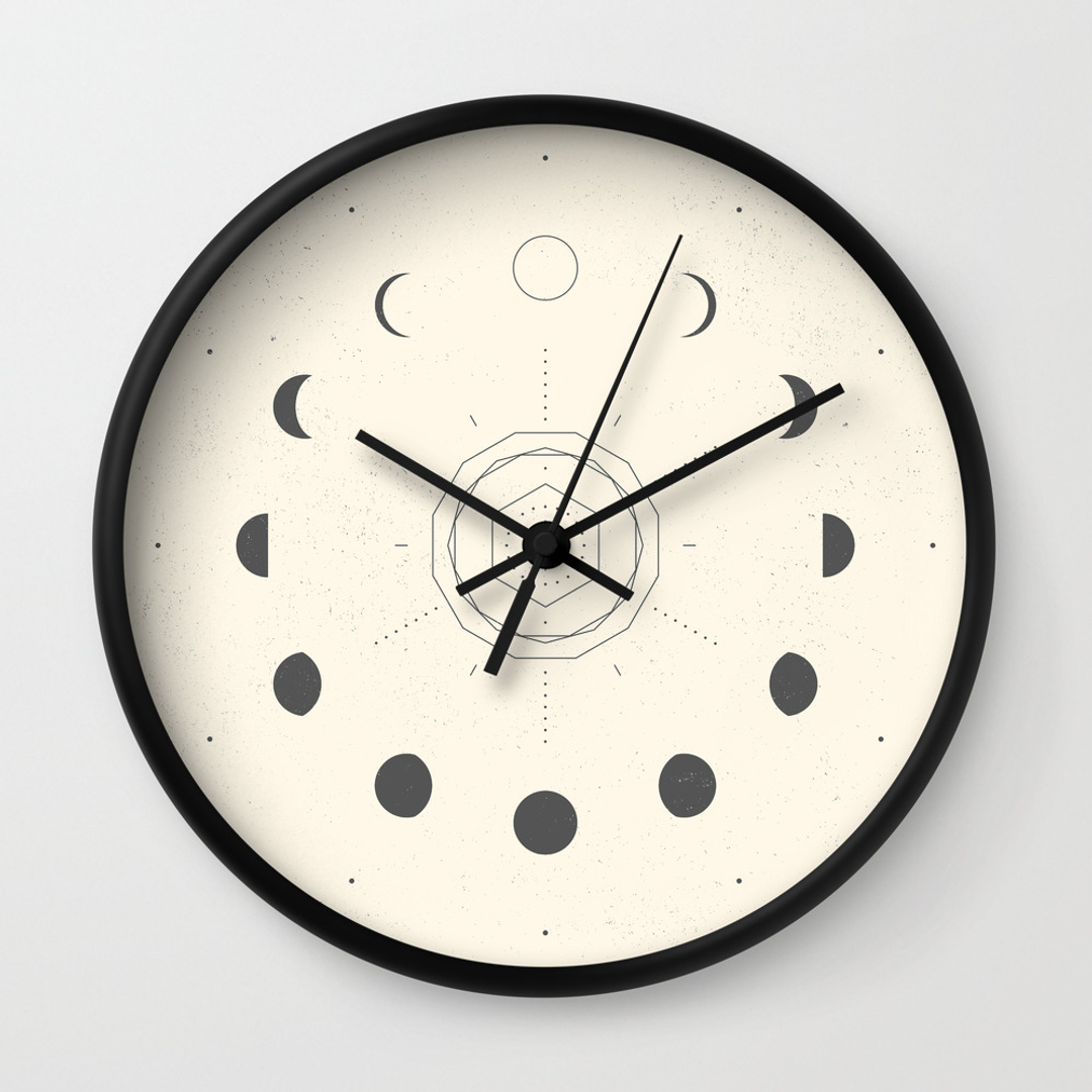 Nature Wall Clocks Society6