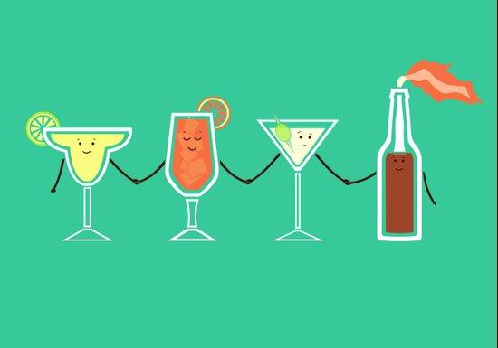 Cocktails! Canvas Print