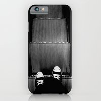 iPhone & iPod Case featuring Up The Down Escalator by Randy Aquilizan
