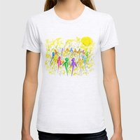 One Breath Womens Fitted Tee Ash Grey SMALL