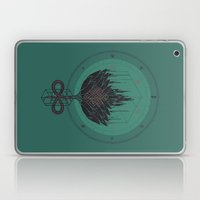 Black Dahlia Laptop & iPad Skin