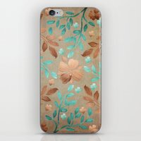 Copper Autumn iPhone & iPod Skin