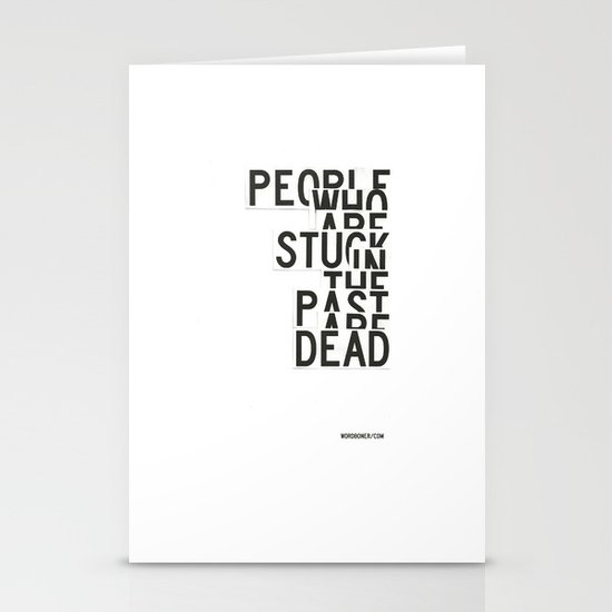 Dead Stationery Card