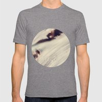 Lost at Sea Mens Fitted Tee Tri-Grey SMALL