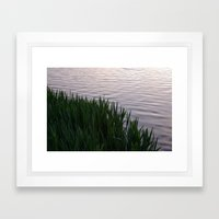 Tranquility: Twilight Waters Framed Art Print