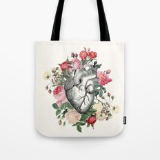 Roses for her Heart Tote Bag