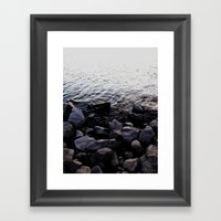 Rocks Framed Art Print