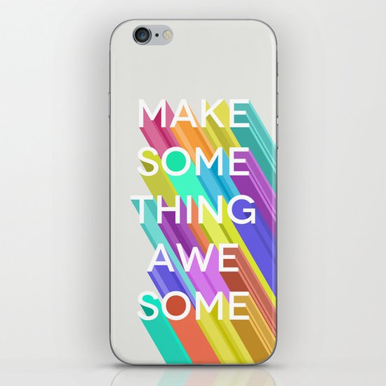 Make Something Awesome iPhone & iPod Skin
