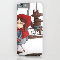 iPhone & iPod Case featuring Little Red Riding Hood by Arianna Usai