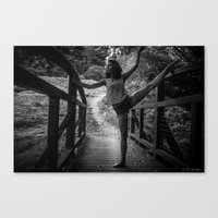 bridge ballet Canvas Print