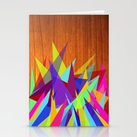 Modern Art Stationery Cards