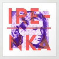 Irenka Polska Art Print
