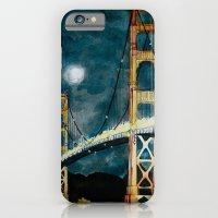 Golden Gate Bridge at Night iPhone 6 Slim Case