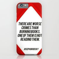 there are worst crimes iPhone 6 Slim Case