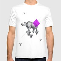 Archetypes Series: Solitude Mens Fitted Tee White SMALL