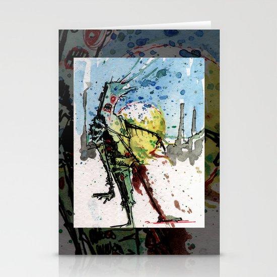 desert zombie Stationery Card