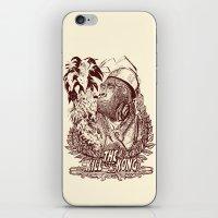 KILL THE KONG iPhone & iPod Skin