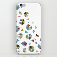 Color Hexagons iPhone & iPod Skin