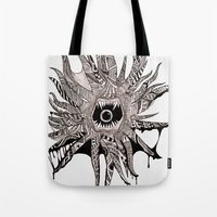 Ink'd Kraken Tote Bag