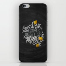 Come Together iPhone & iPod Skin