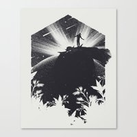 The Cosmic Gate Canvas Print
