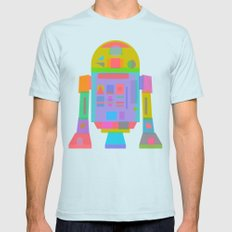 OrTwoDeeTwo  Mens Fitted Tee Light Blue SMALL