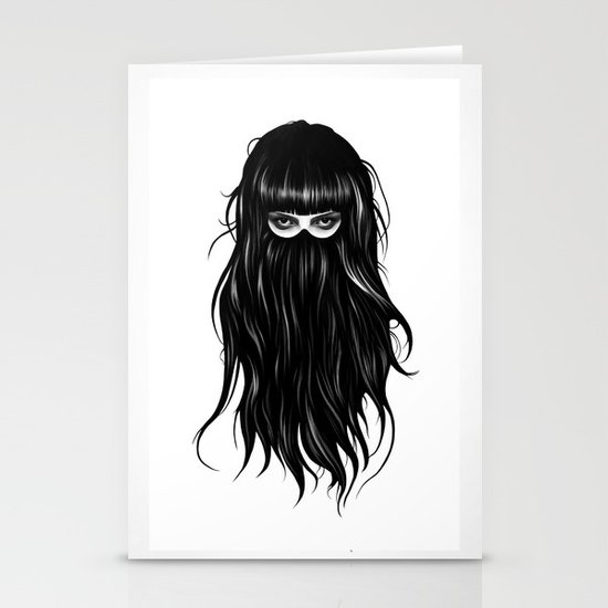 It Girl Stationery Card
